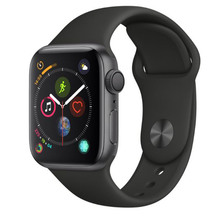 Apple Watch Series 4 GPS 40mm - Space Grey with Black Band