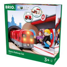 BRIO Metro Railway Set - 20 pieces