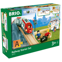 "BRIO Railway Starter Set ""A"" - 26 pieces"