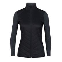 Icebreaker Women's Descender Hybrid Jacket Black/Jet Heat...
