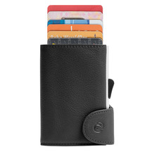 C-secure Wallet/Cardholder with RFID Protection Single