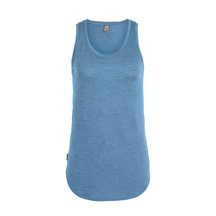 Icebreaker Women's Solace Tank Thunder Heather
