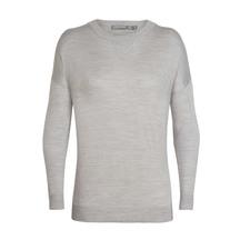 Icebreaker Women's Nova Cool-Lite ™  Sweater Blizzard Hea...