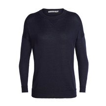 Icebreaker Women's Nova Cool-Lite ™  Sweater Midnight Navy