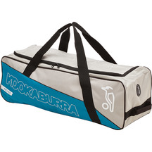Kookaburra Pro 600 Wheel Bag - Grey/Teal