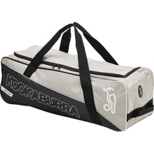 Kookaburra Pro 600 Wheel Bag - Grey/White