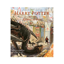 Harry Potter and the Goblet of Fire Illustrated Edition -...