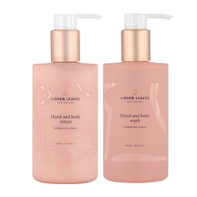 Linden Leaves Clementine & Basil Hand & Body Wash + Lotion