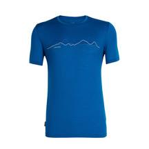 Icebreaker Men's Tech Lite Short Sleeve Crewe Icebreaker ...