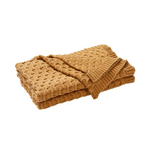 Weave Delaney Cotton Knit Throw