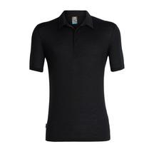 Icebreaker Men's Solace Short Sleeve Polo Black