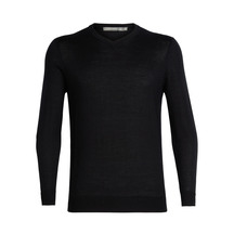 Icebreaker Men's Quailburn V Sweater Black