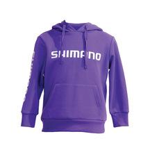 Shimano Kids Hoodie Purple