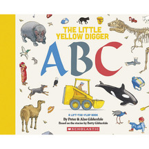 The Little Yellow Digger ABC - Peter Gilderdale