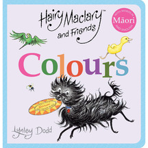 Hairy Maclary Colours Maori & English - Lynley Dodd