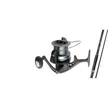 Okuma X-factor 14' 3 piece Rod with Xspot XS80 Reel