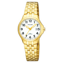 Pulsar Ladies Gold Quartz Analogue Watch
