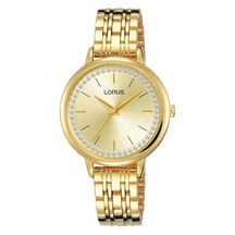 Lorus Ladies Quartz Analogue Gold Dress Watch