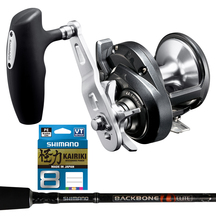 "Shimano Torium 20PG Reel - Backbone 5'5"" 400gm 1 piece ro..."