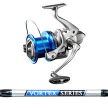 """Shimano Speedmaster 14000 XSC - Vortex 13'6"""" 3 piece Surf..."""
