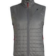 Icebreaker Men's Helix MerinoLOFT ™  Vest Timberwolf/Black