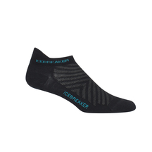 Icebreaker Women's Run + Ultralight Micro - Black