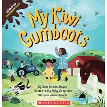 My Kiwi Gumboots - June Hayes