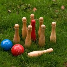 easy days Wooden Skittles