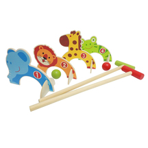 easy days Wooden Animal Croquet