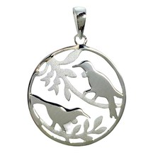 STERLING - Two Tui Pendant