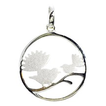 STERLING - Two Fantails Pendant
