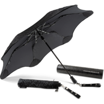 Blunt X Stolen Umbrella -Leather Stud Strap Black Leopard