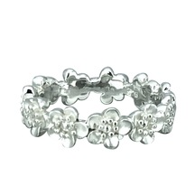 STERLING - Manuka Flower Band Ring