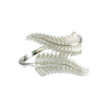 STERLING - Silver Fern Wrap Ring