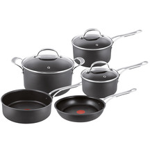 Jamie Oliver Premium Hard Anodised 5 piece Cookware Set