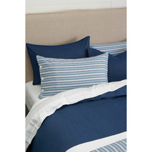 SENECA Classic Denim Blue Duvet Set