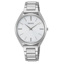 Seiko Ladies Conceptual Silver Watch