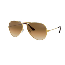 Ray-Ban Aviator Sunglasses - Crystal Brown Gradient