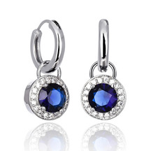 Kagi Sapphire Orbit Ear Charms