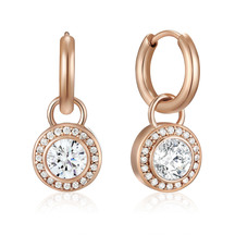 Kagi 14k Rose Orbit Ear Charms