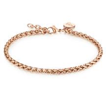 Kagi 14k Rose Helix Petite Bracelet