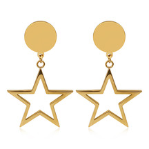 Kagi Falling Star Earrings Gold