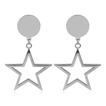 Kagi Falling Star Earrings Silver