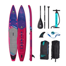 Torpedo7 Aztron Meteor 14' Race Inflatable Paddle Board P...