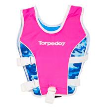 Torpedo7 Kids Swim Vest - Fluro Pink