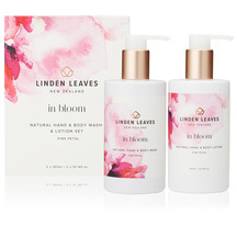Linden Leaves Pink Petal Body Wash and Lotion