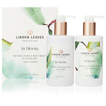 Linden Leaves Green Verbena Body Wash and Lotion