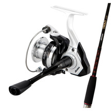 "Okuma Trout Stik 6' 6"" 2 piece Rod with Aria 30 Reel"