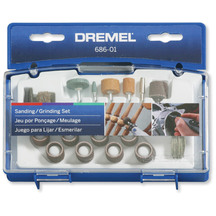 Dremel 18 Piece Ez Lock Accessories Kit