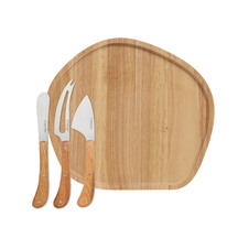 Stanley Rogers Pistol Grip Cheese Knives & Round Board Story